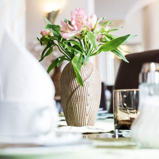 Frühstück Blume Tisch