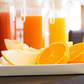 Frühstück Orangensaft